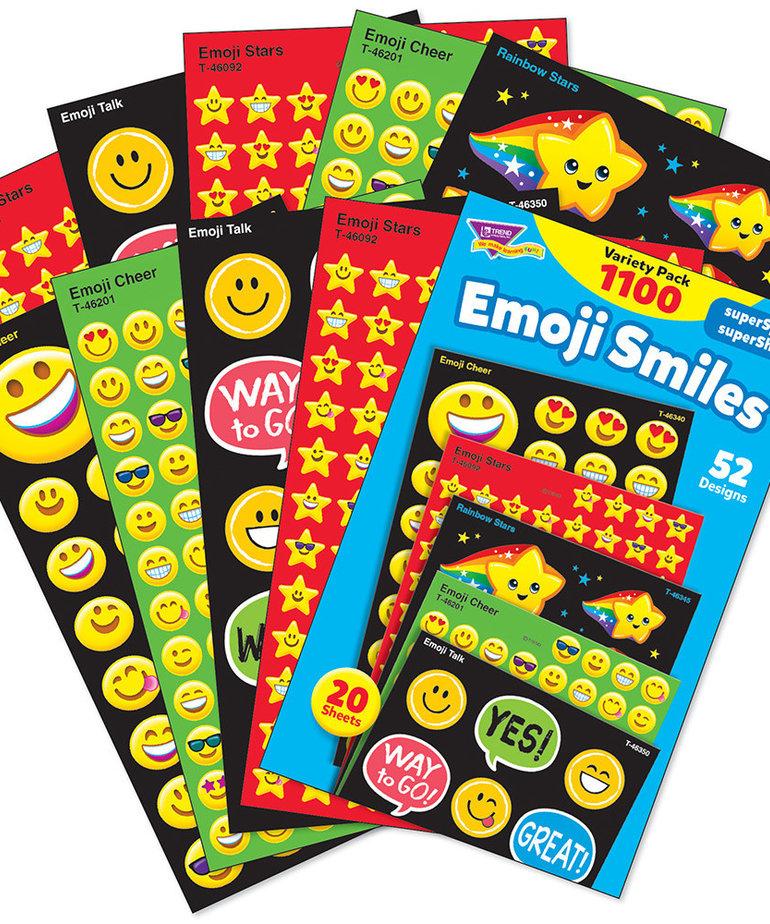Emoji Smiles Variety Pack