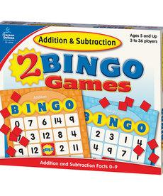 Addition & Subtraction Bingo Game