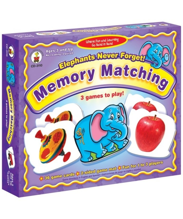 Elephants Never Forget Memory Matching