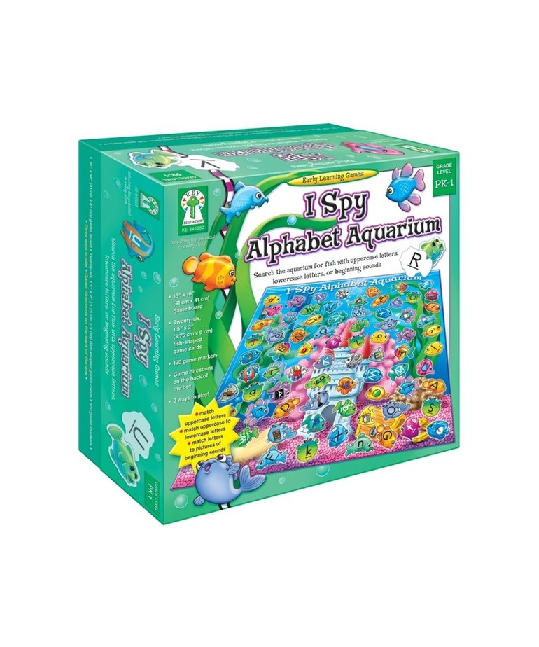 I Spy Alphabet Aquarium