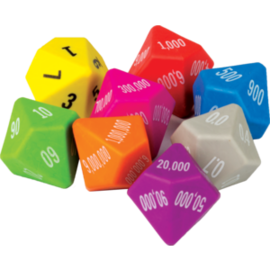 Place Value Dice (8 Pack)