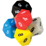 10 sided dice-6pk