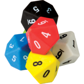 10 sided dice-6pk