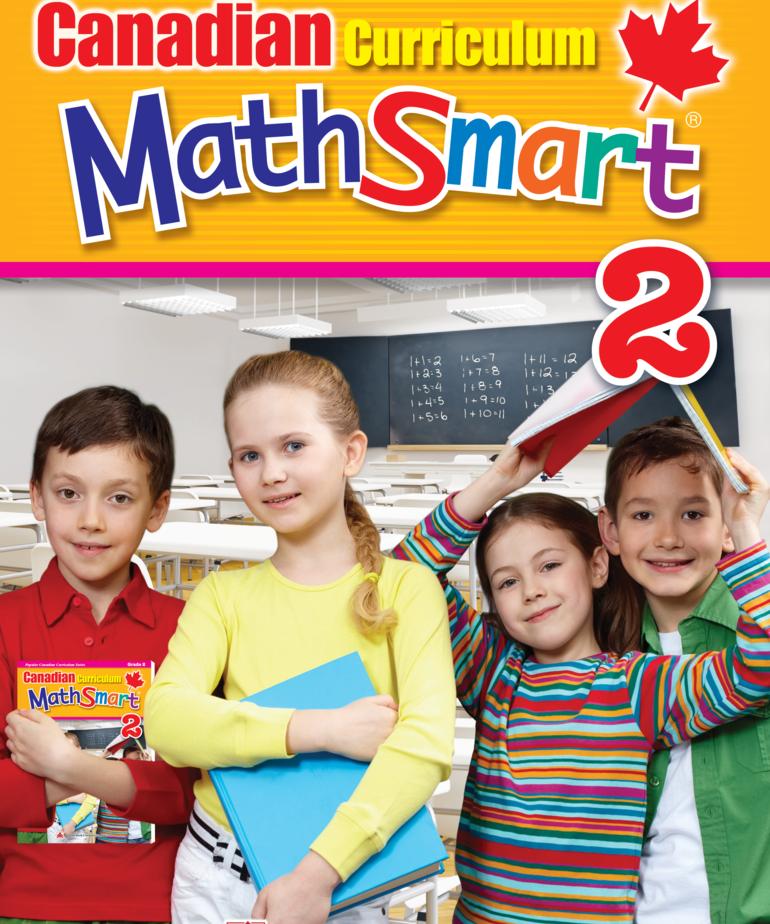 Canadian Curriculum Math Smart Gr. 2 Workbook
