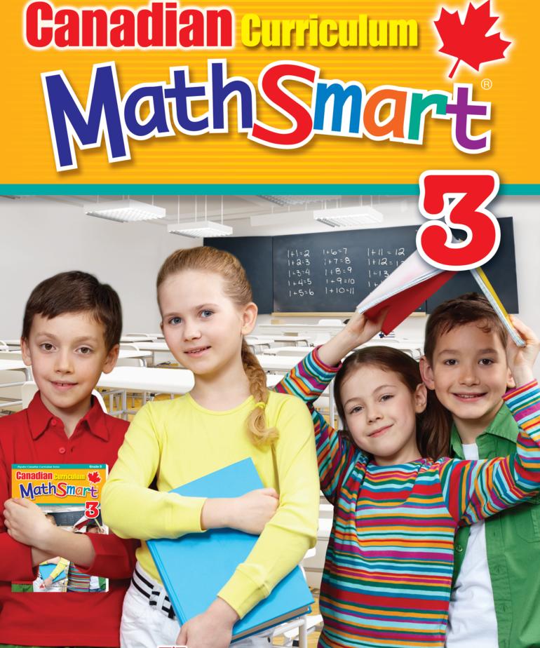 Canadian Curriculum Math Smart Gr. 3
