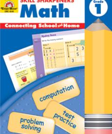 Evan-Moor Skill Sharpeners Math Gr. 1