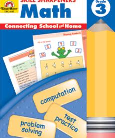 Evan-Moor Skill Sharpeners Math Gr. 3