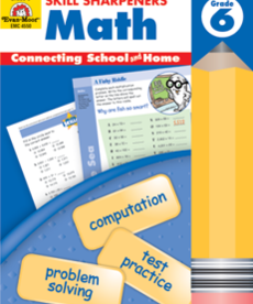Evan-Moor Skill Sharpeners Math Gr. 6