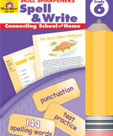 Evan-Moor Skills Sharpeners Spell & Write Gr. 6
