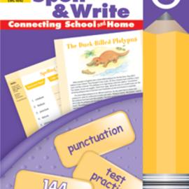 Skills Sharpeners Spell & Write Gr. 6