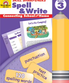 Evan-Moor Skills Sharpeners Spell & Write Gr. 3