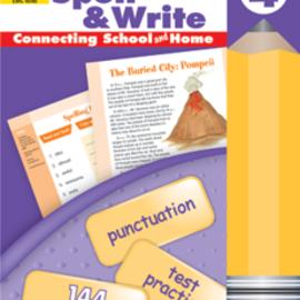 Skills Sharpeners Spell & Write Gr. 4