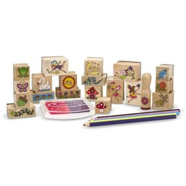 Stamp-A-Scene Fairy Garden