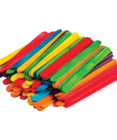 STEM Basics: Multicolor Craft Sticks-250