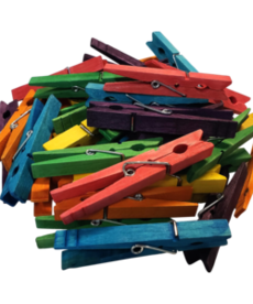 STEM Basics: Multicolored Clothespins-50