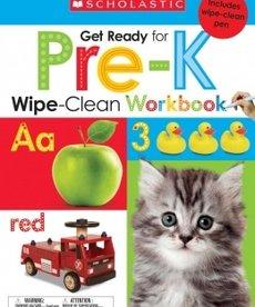 Get Ready for PreK Wipe-Clean Workbook