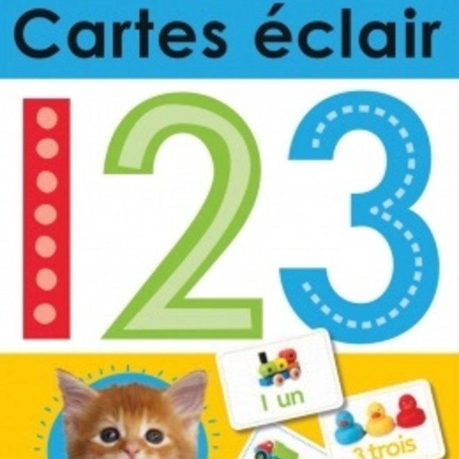 Cartes eclair 123