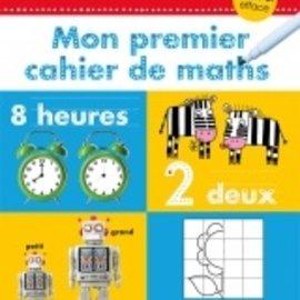 Trace et Efface - Mon Premier Cahier De Maths