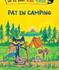 Je lis avec Pat le Chat- Pat en camping