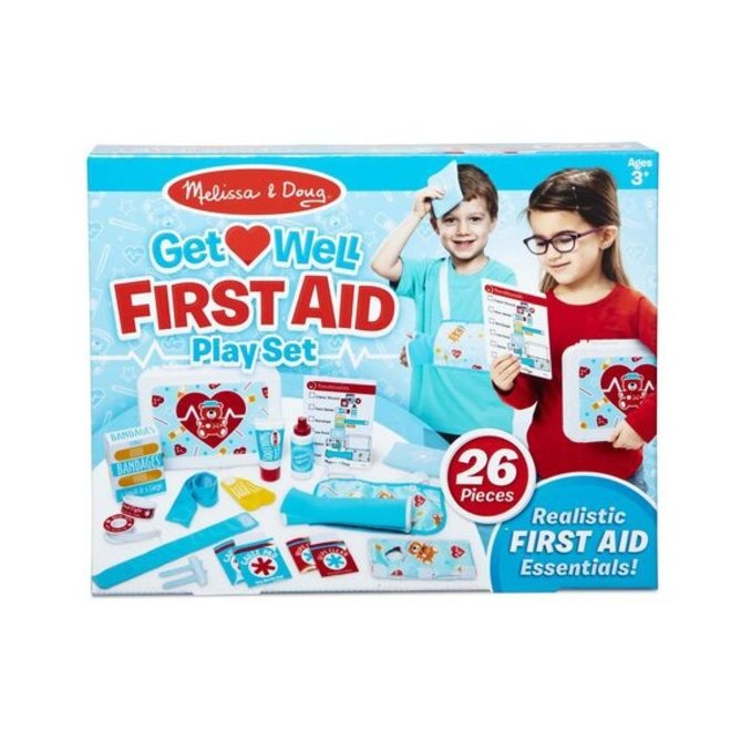 Get Well First Aid Play Set