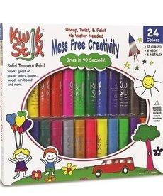 Kwik Stix Tempera Paint-24 All Color Set