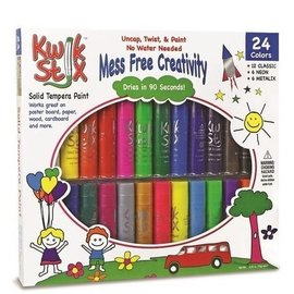 Kwik Stix Tempera Paint-24 All Color Set