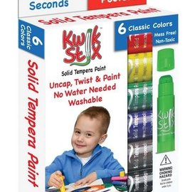 Kwik Stix Tempura Paint-6 pack Primary