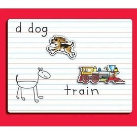 Lined Magnetic Dry Erase Board