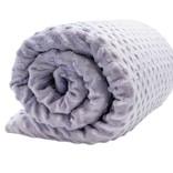Lotus Weighted Blanket 7lbs - Purple