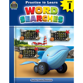 Practice to Learn: Word Search Gr.1