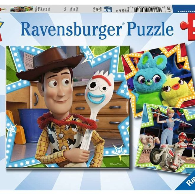 Toy Story In It Together Puzzle (3 x 49pc)
