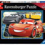 Cars I Can Win! Puzzle (2 x 24pc)