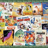 Disney Vintage Movie Poster Puzzle 1000pc