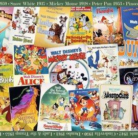 Disney Vintage Movie Poster Puzzle 1000pc