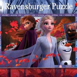 Frozen Frosty Adventures Puzzles (2 x 24pc)