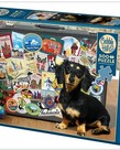 Cobble Hill Dachshund 'Round the World 500pc