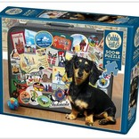 Dachshund 'Round the World 500pc
