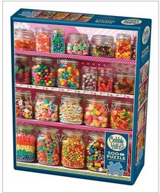 Cobble Hill Candy Shelf 500pc