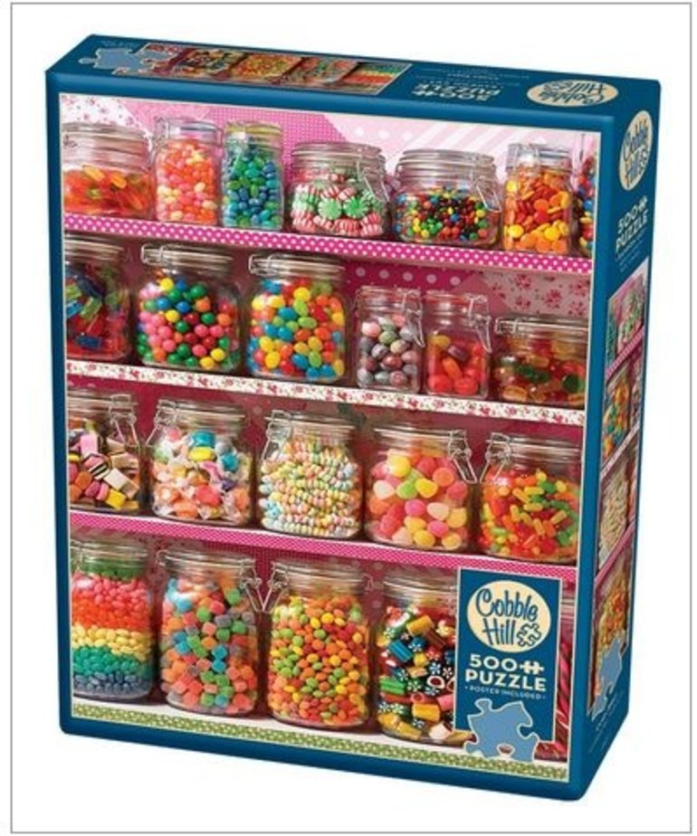 Cobble Hill Candy Shelf 500pc