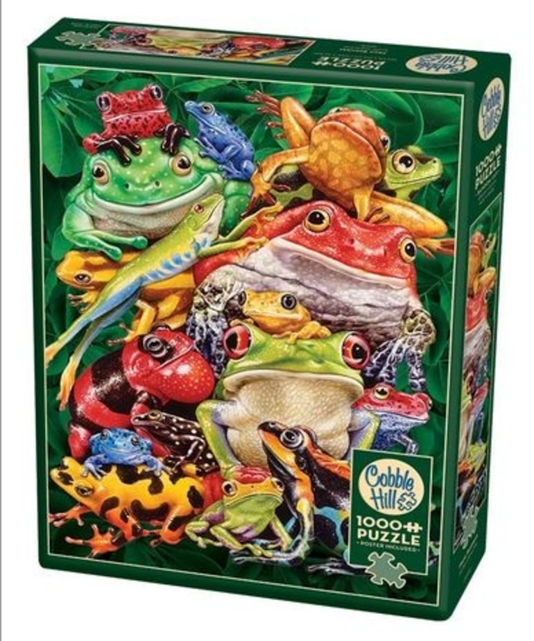 Cobble Hill Frog Business 1000pc