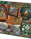 Cobble Hill Cabin Signs Puzzle 1000pc