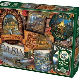 Cabin Signs Puzzle 1000pc