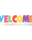 Chevron Welcome Bulletin Board Set