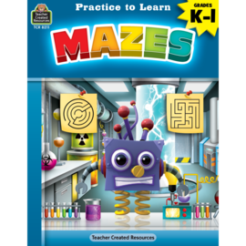 Practice to Learn: Mazes Gr. K-1