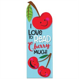 I Love to Read Cherry Much Scented Bookmark