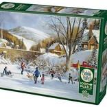Hockey on Frozen Lake 1000pc