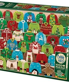 Cobble Hill Ugly Xmas Sweater Puzzle 1000pc