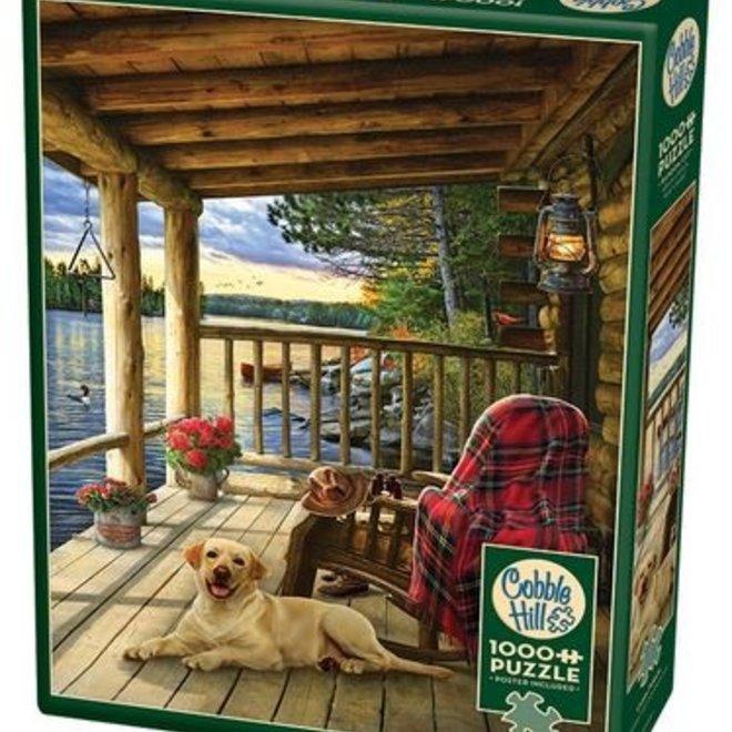 Cabin Porch 1000pc