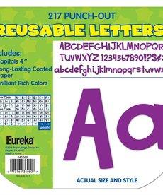 Sharp Bunch Purple Letters