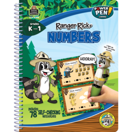 Ranger Rick Power Pen Learning Book-Numbers